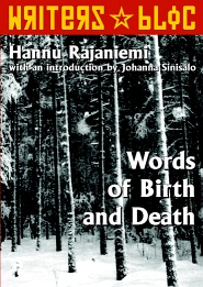 Words of Birth and Death front cover
